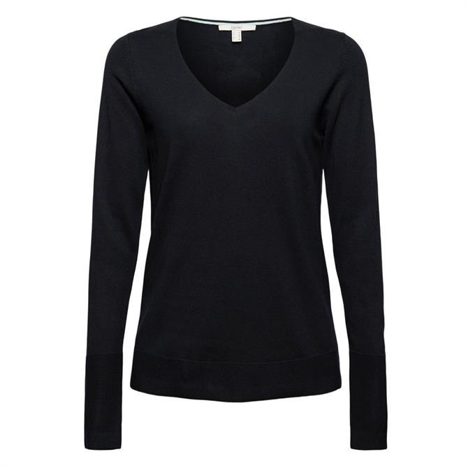 Esprit Organic Cotton V Neckline Sweater