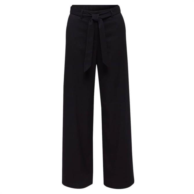 Esprit Wide Leg Flannel Trousers