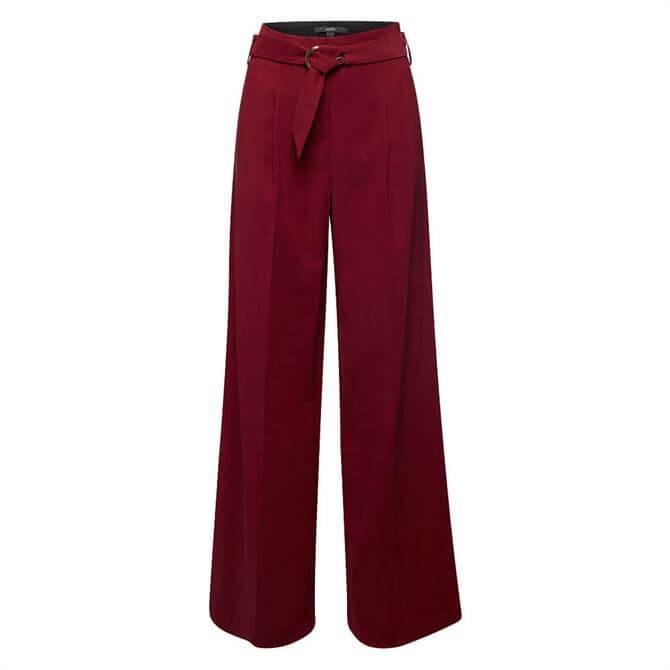 Esprit Wide Leg Belted Trouser