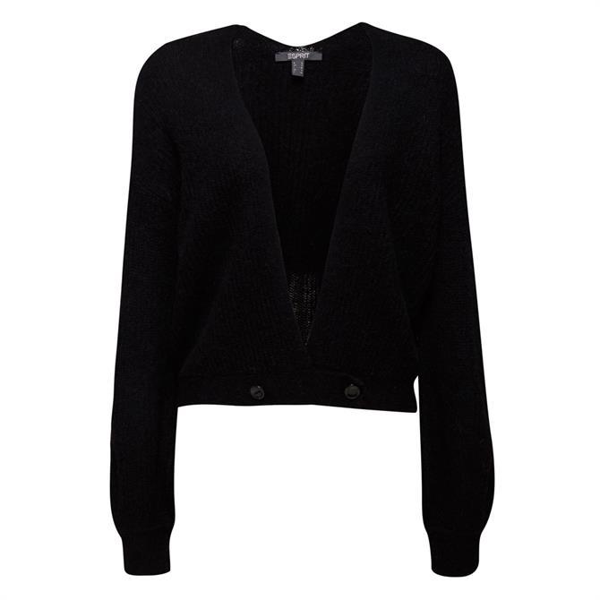 Esprit Wool & Alpaca Blend Short Cardigan