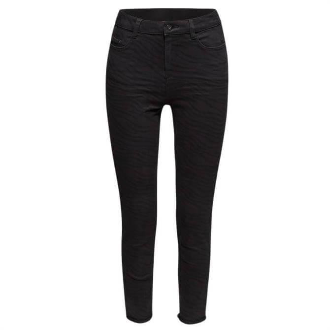 Esprit Zebra Print Skinny Jeans