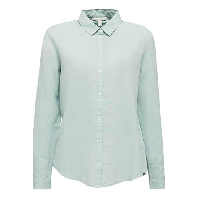 Esprit Linen Blend Classic Shirt