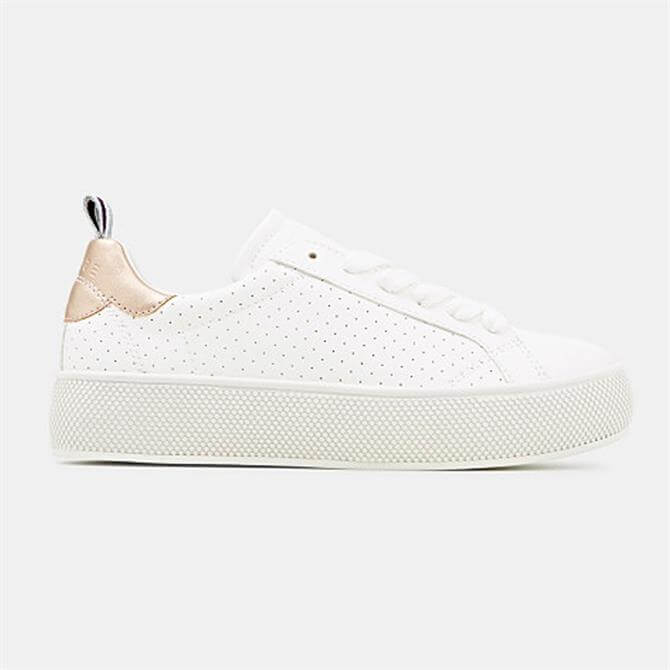 Esprit Babika Platform Trainers with Perforated Detail