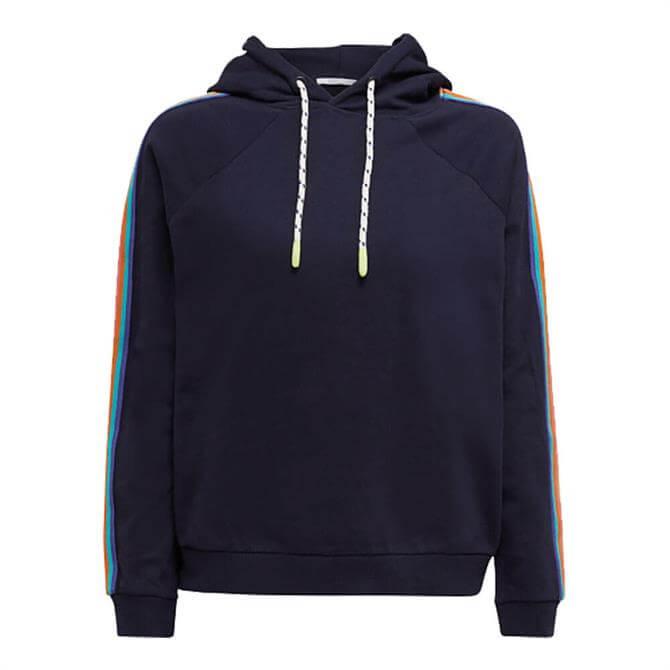 Esprit Rainbow Stripe Hoodie