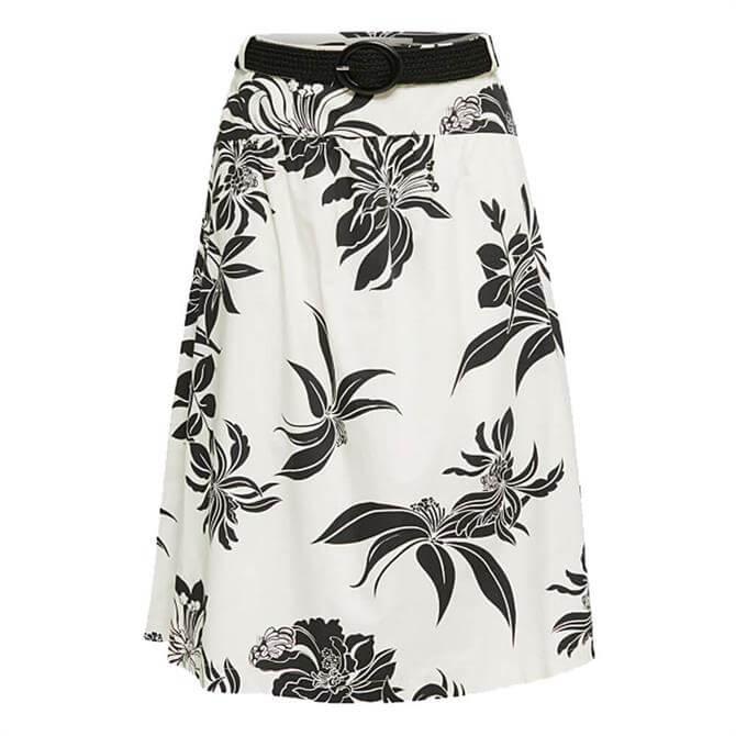 Esprit Decorative Ornamental Print Skirt