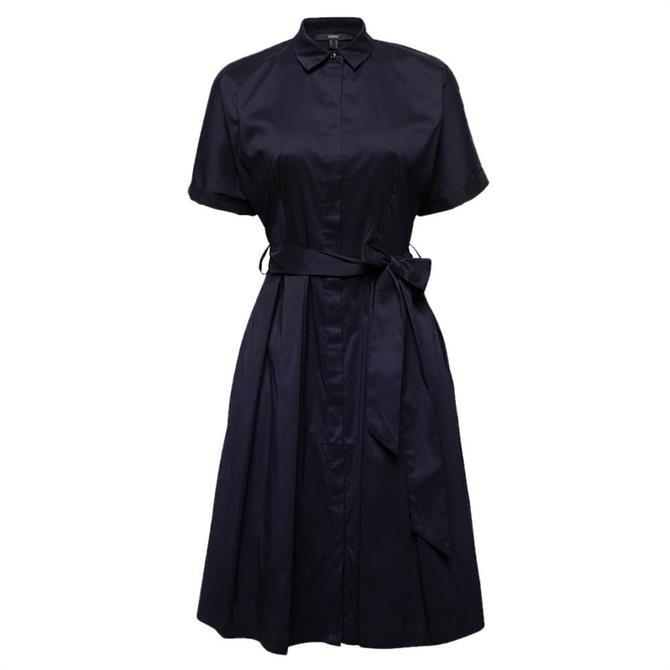 Esprit A-Line Belted Shirt Dress