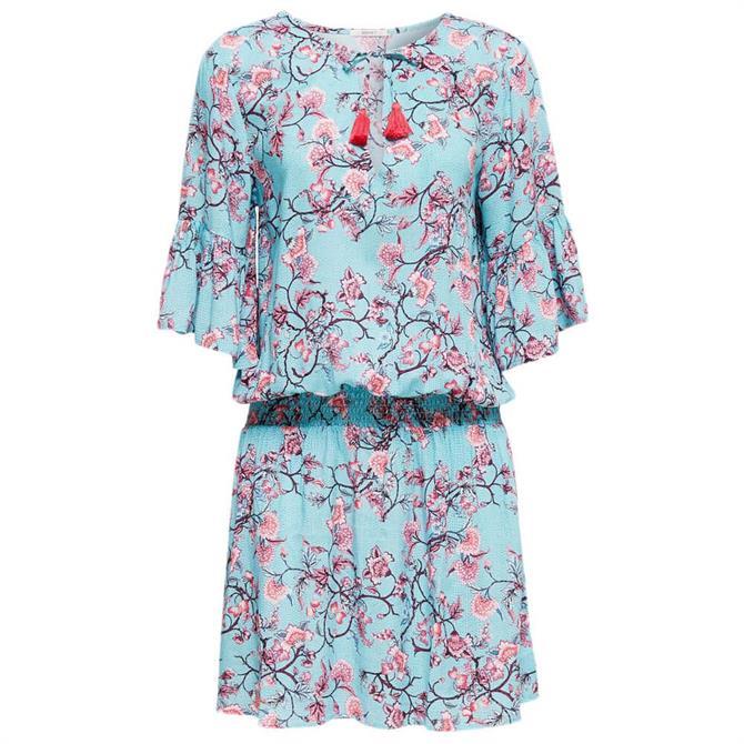 Esprit Bilgola Floral Tendril Beach Dress