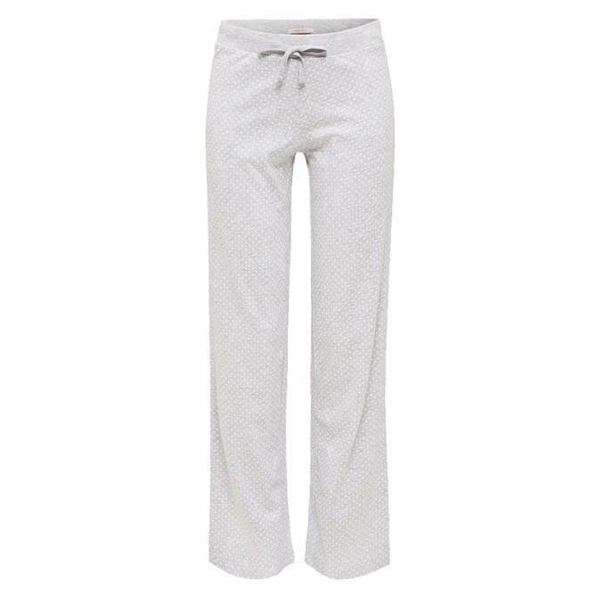 Esprit Polka Dot Jersey Melange Pyjama Trousers
