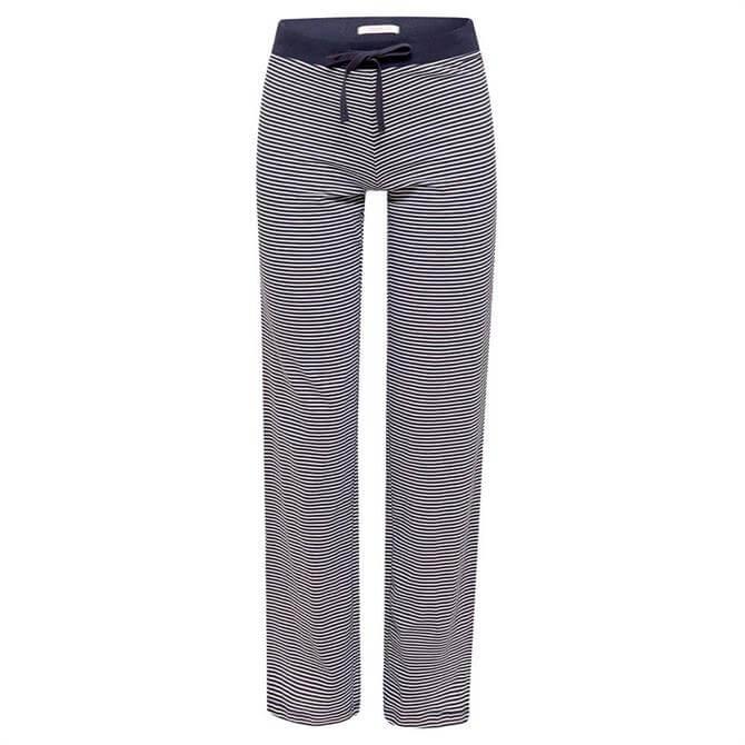 Esprit Navy Striped Jersey Pyjama Trousers
