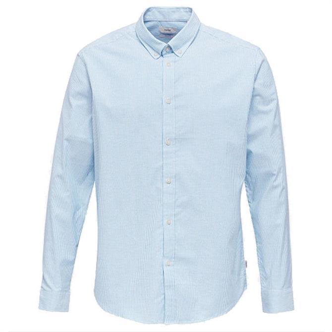 Esprit Stretch Cotton Striped Oxford Shirt