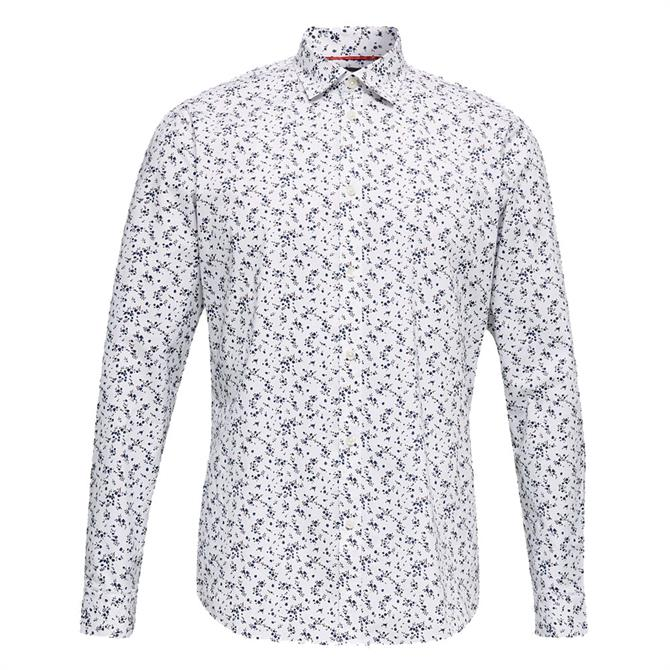 Esprit Micro Floral Shirt with COOLMAX