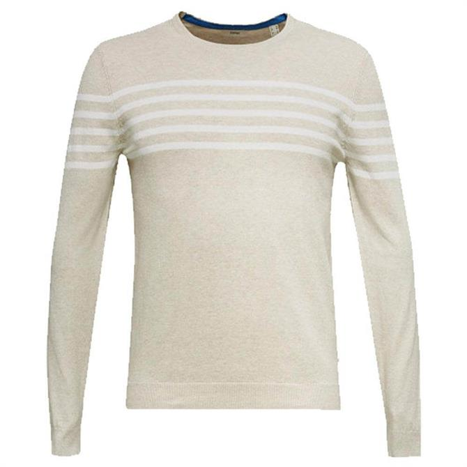 Esprit Striped Pure Cotton Jumper