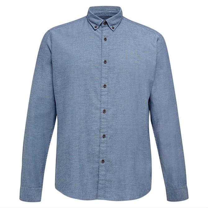 Esprit Thermolite Chambray Woven Shirt