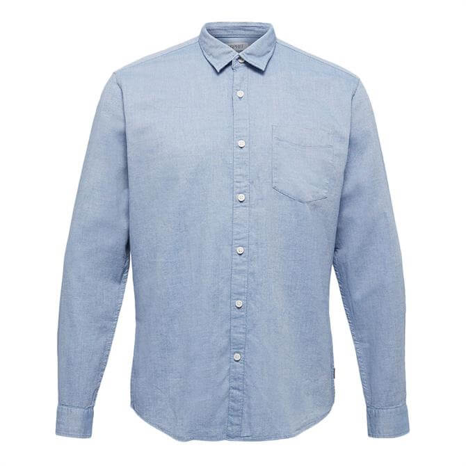 Esprit Textured Woven Organic Cotton Shirt
