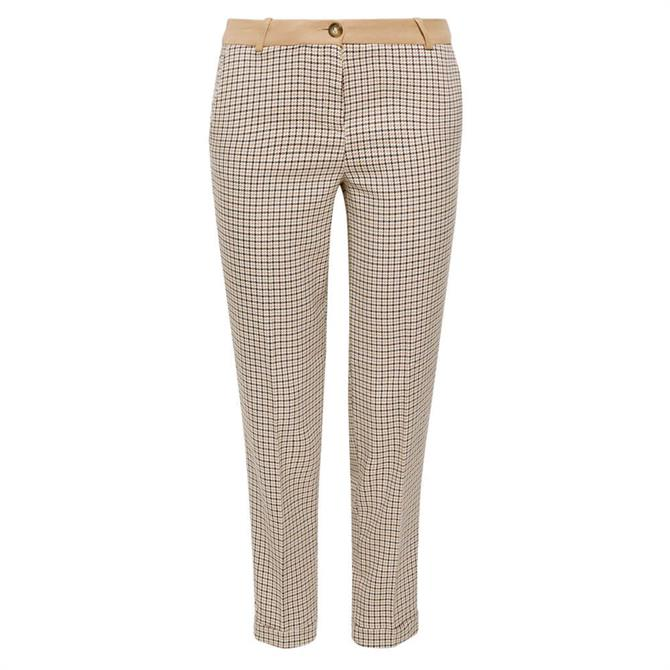 Esprit Houndstooth Stretch Trousers