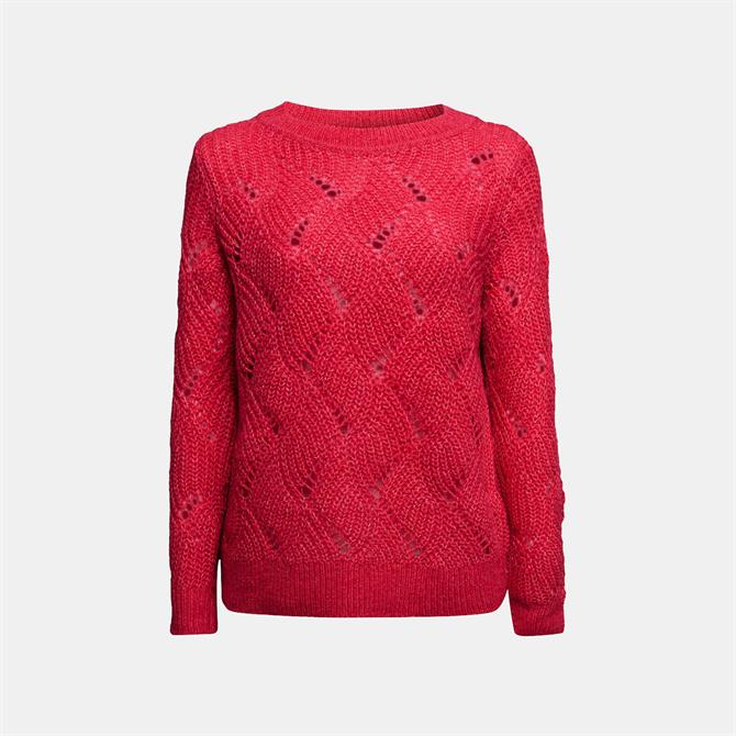 Esprit Wool & Alpaca Pointelle Jumper