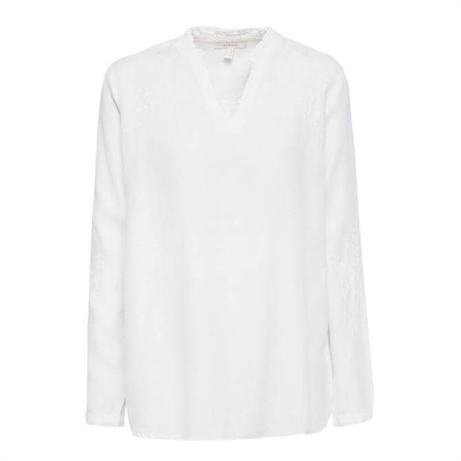 Esprit Embroidered Linen Tunic