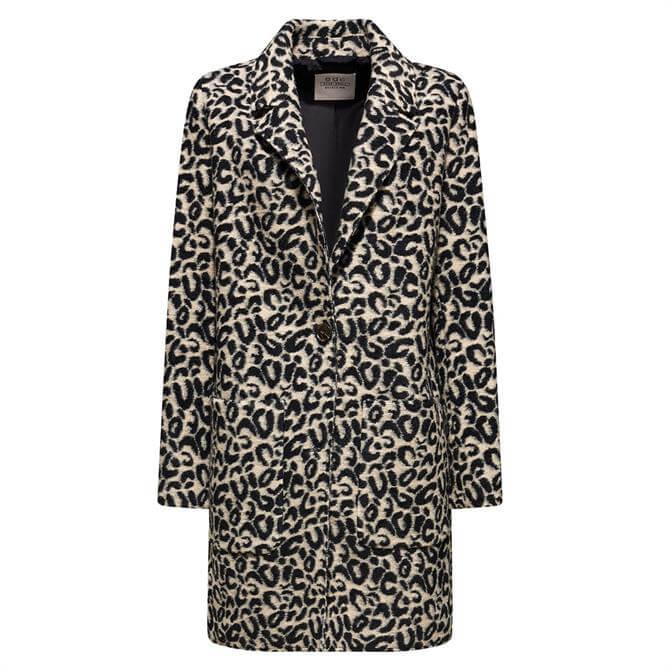 Esprit Leopard Print Coat