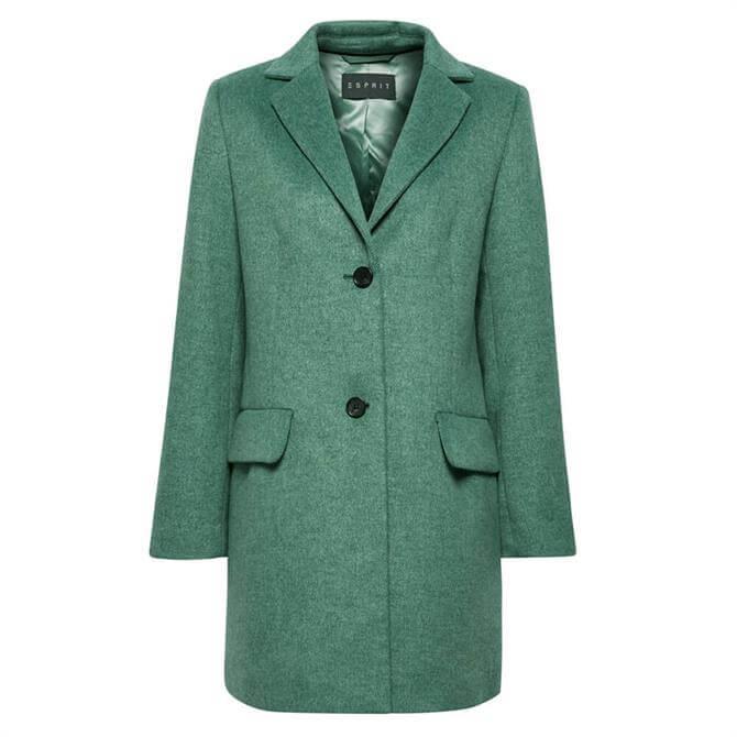 Esprit Woven Fitted Blazer Coat
