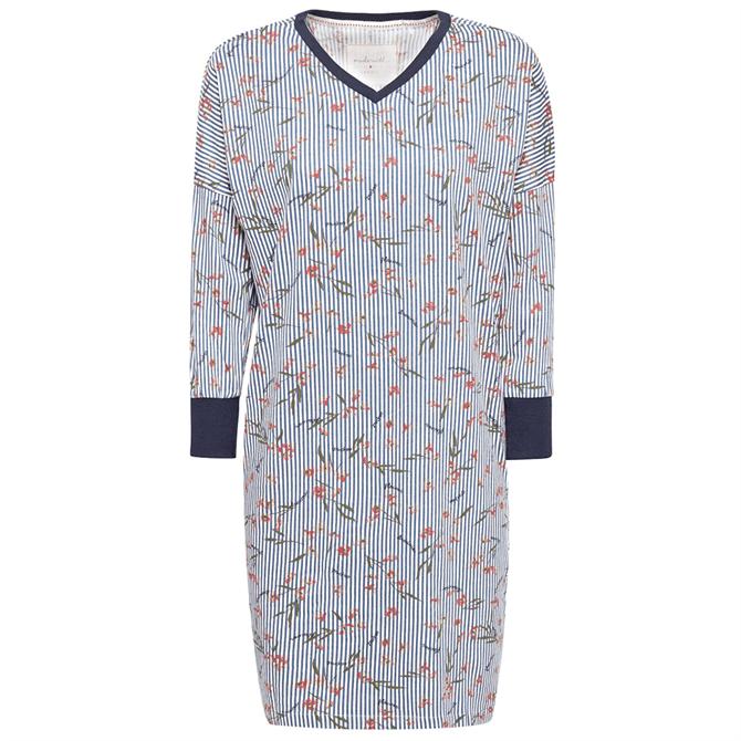Esprit Dilera Striped Jersey Nightshirt