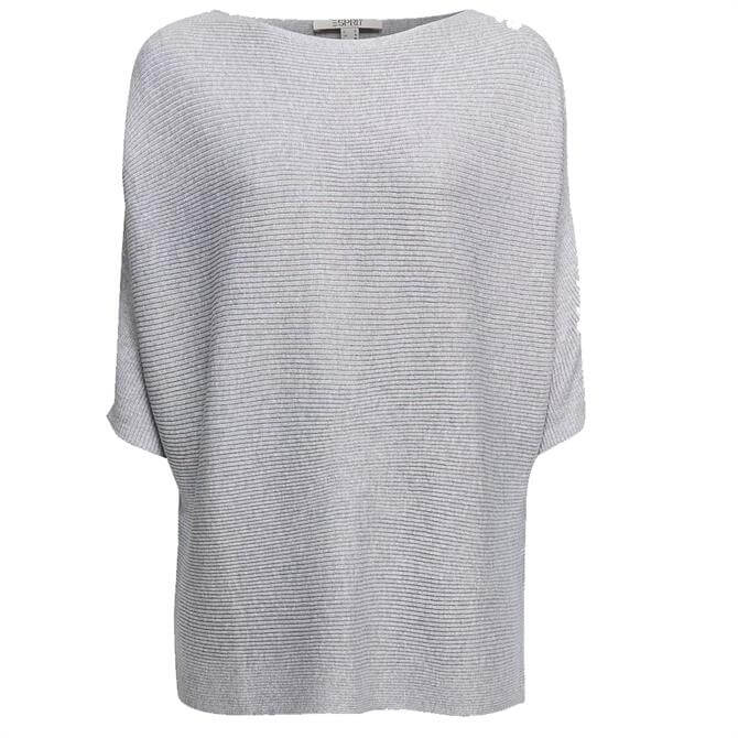 Esprit Sustainable Yarn Sparkle Knit Batwing Sweater