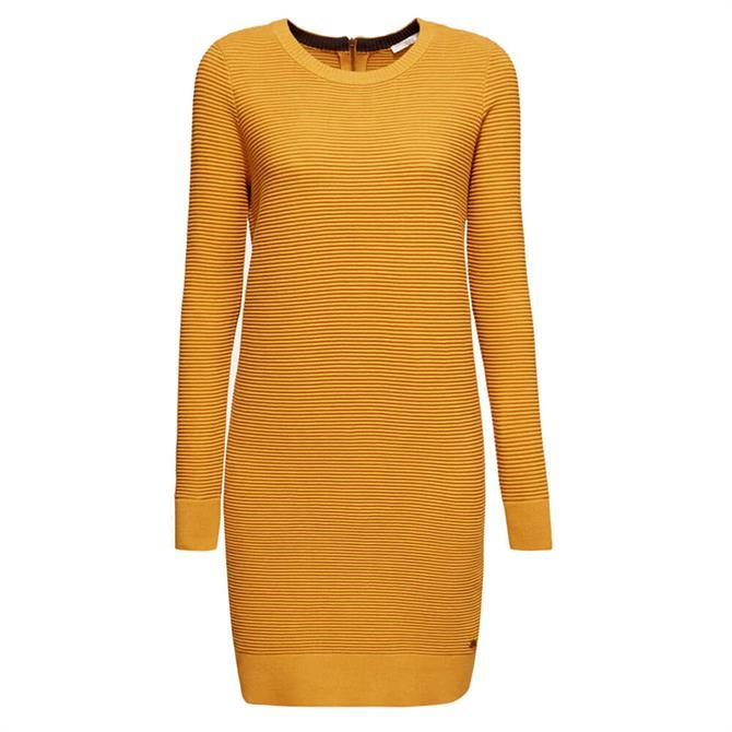 Esprit Ribbed Knitted Jumper Dress