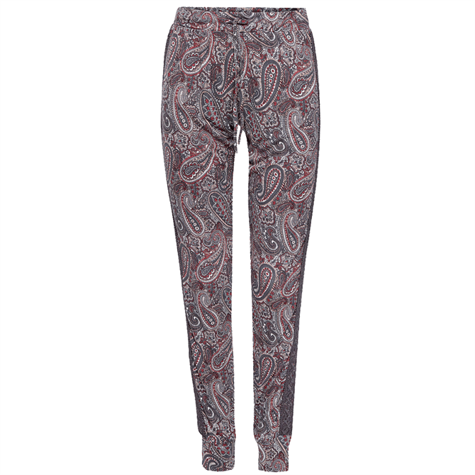 Esprit Ebony Paisley Print Cuffed Pyjama Bottoms