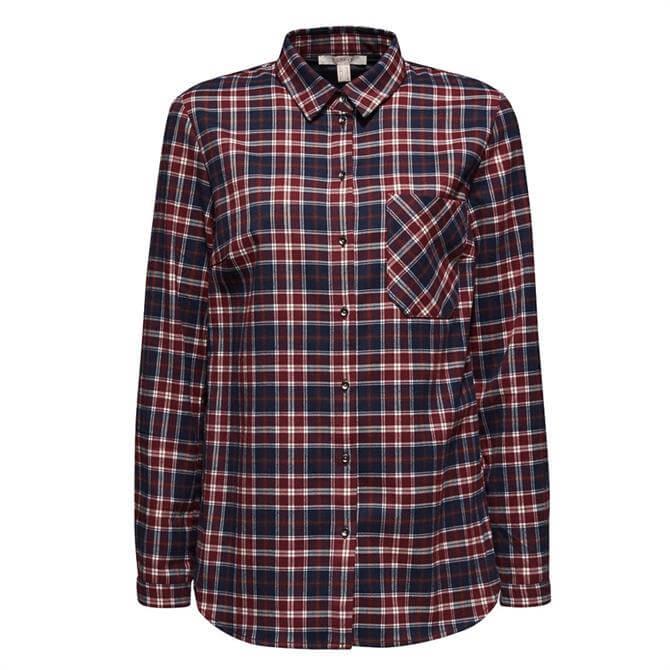 Esprit Flannel Checked Shirt