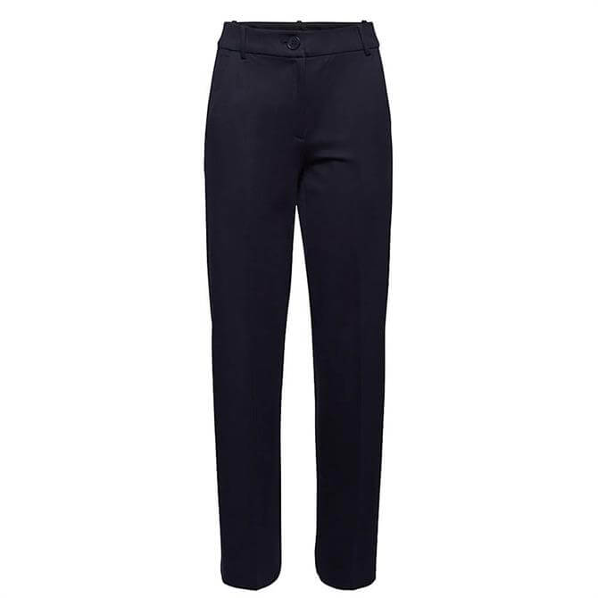 Esprit Straight High Rise Punto Jersey Trousers