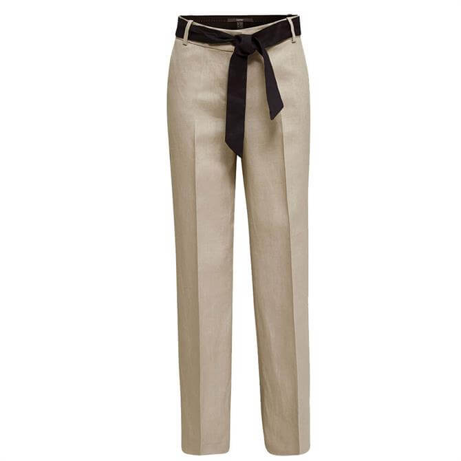 Esprit Wide Leg Smart Linen Trousers