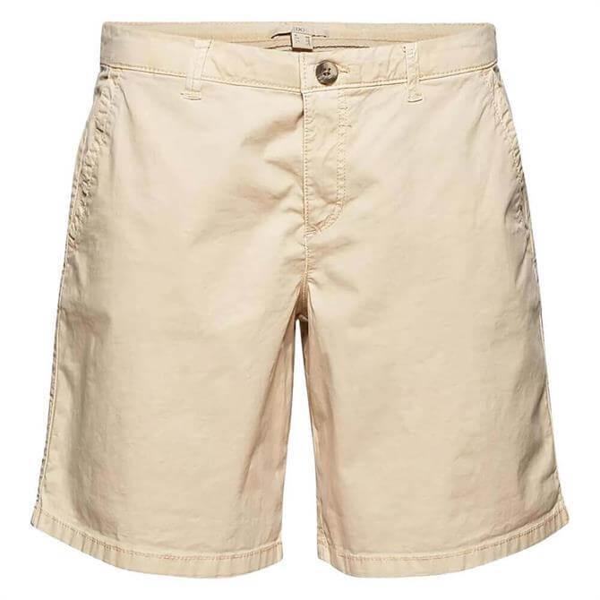 Esprit Chino Stretch Organic Cotton Chino Women's Shorts
