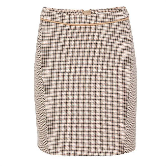 Esprit Houndstooth Check Skirt