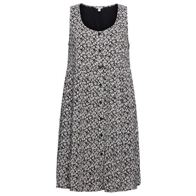 Esprit Buttoned Sleeveless Sun Dress