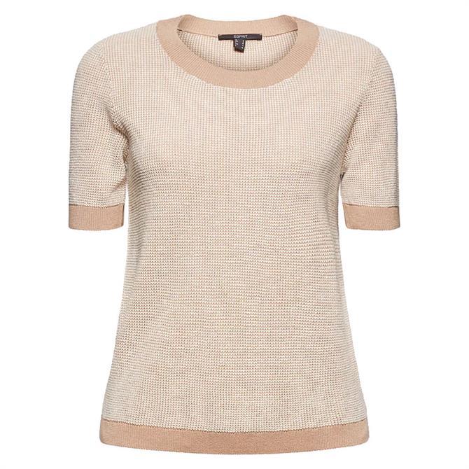 Esprit Short Sleeve Sustainable Sweater