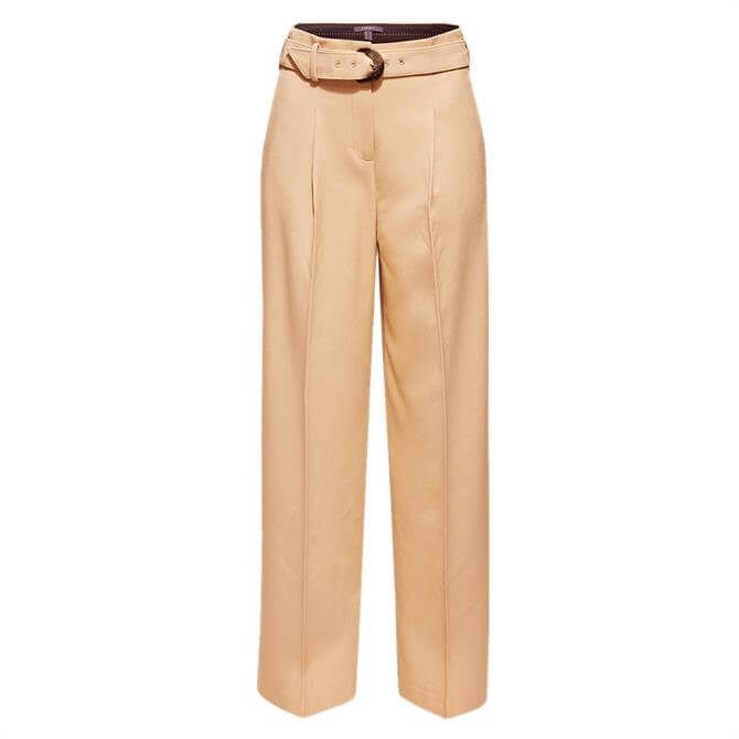 Esprit Belted Flared Trouser