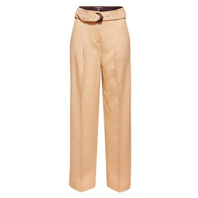Esprit Belted Flared Trouser