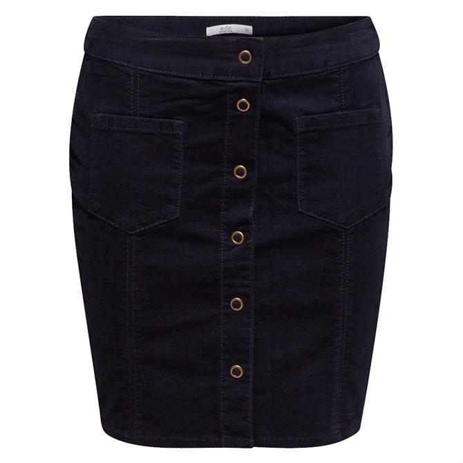 Esprit Corduroy Buttoned Skirt