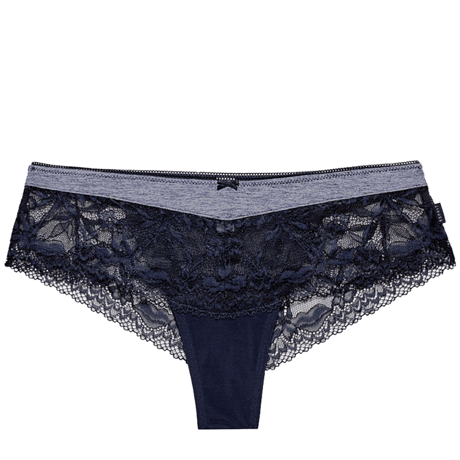 Esprit Daska Jersey and Lace Hipster Briefs