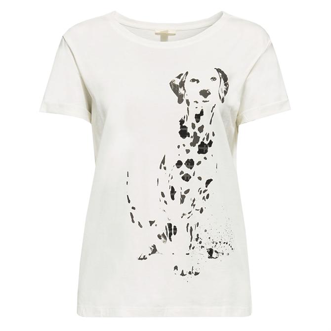 Esprit Dog Print T-Shirt