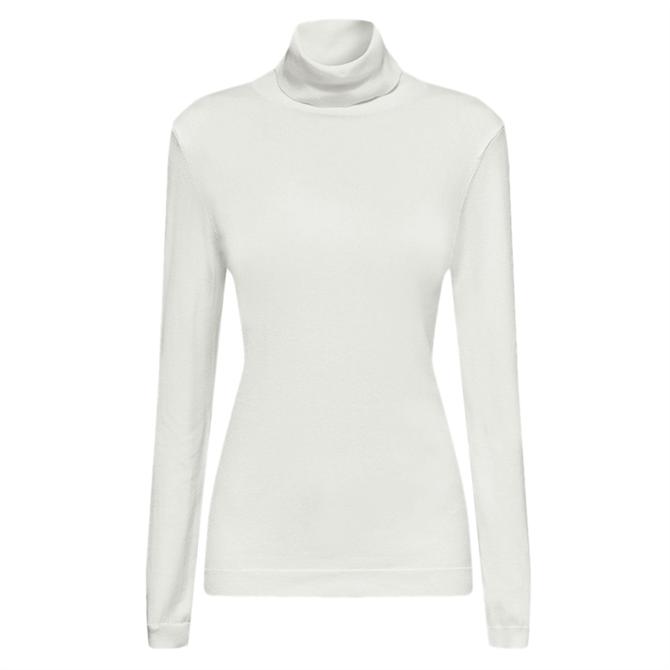 Esprit Fine Knit Basic Polo Neck Jumper
