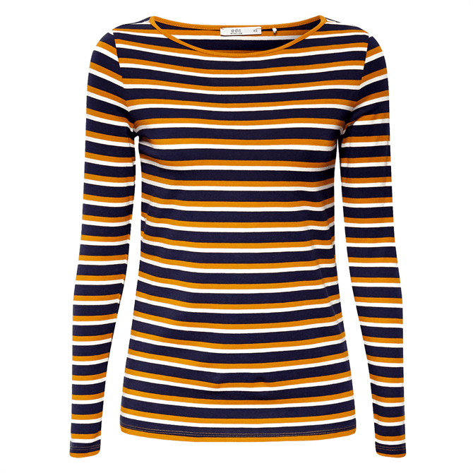 Esprit Essential Long Sleeved Striped Top
