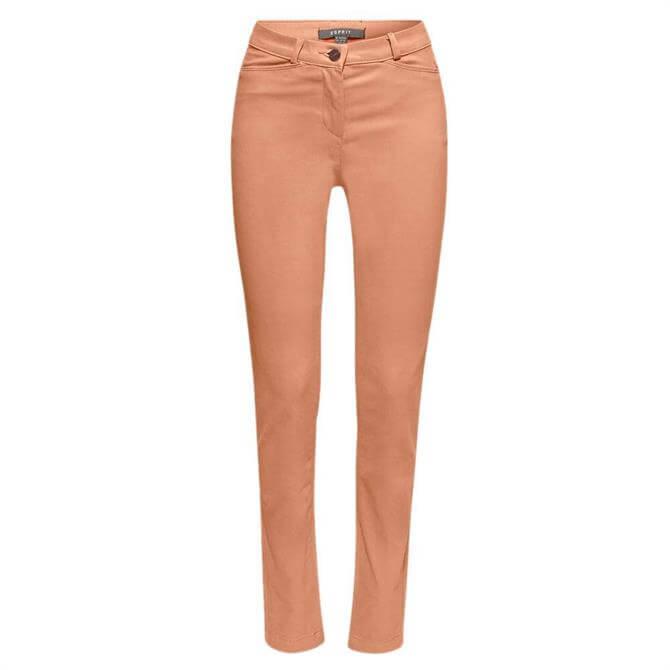Esprit Soft High Rise Slim Fit Trousers