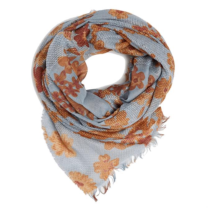 Esprit Textured Floral Print Scarf