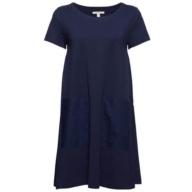 Esprit Jersey Dress - Navy