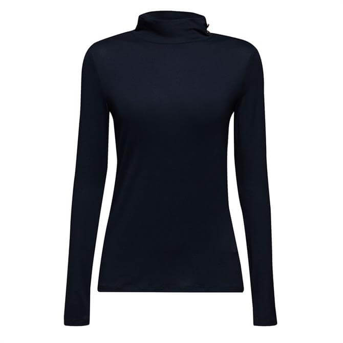 Esprit Stretch Roll Neck Top