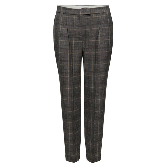 Esprit Soft Glencheck Mix & Match Stretch Trousers