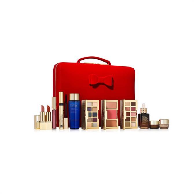 Estée Lauder 32 Beauty Essentials Gift Set Featuring a Full-Size Advanced Night Repair (30ml)