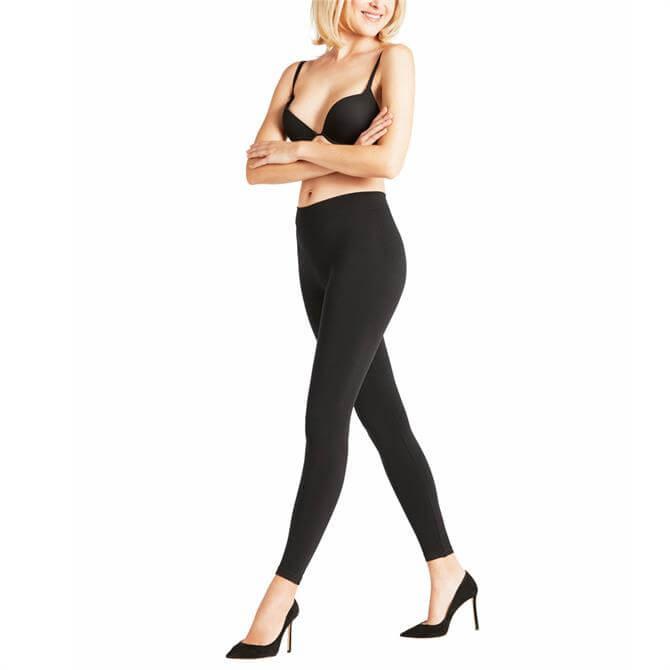 Falke Seamless Women Opaque Leggings in Black