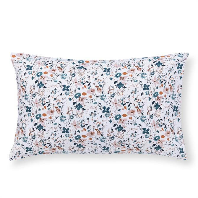 FatFace Floating Blooms Pair of Standard Reversible Pillowcases