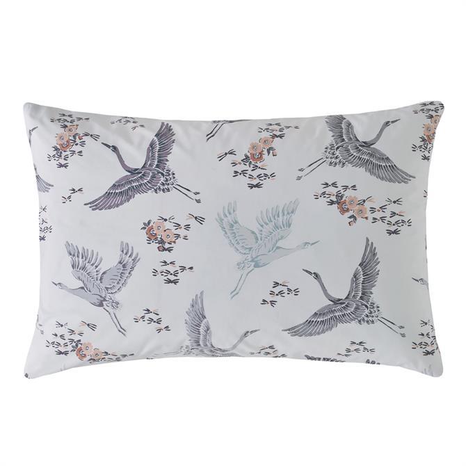 FatFace Floral Flight Iris Pair of Standard Pillowcases